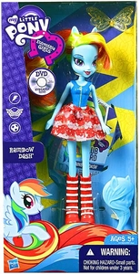 My Little Pony Equestria Girls 9 Inch Basic Doll Rainbow Dash BLOWOUT SALE!