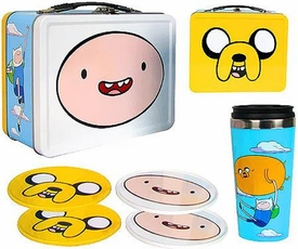 Bif Bang Pow! Adventure Time Exclusive Tin Tote Gift Set