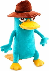 Disney Phineas and Ferb Exclusive 13 Inch Deluxe Plush Figure Agent P [Perry the Platypus]