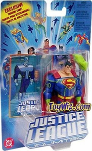 Justice League Unlimited Action Figure Superman