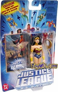 Justice League Unlimited Action Figure Wonder Woman with Gold Lasso [Blue Card]