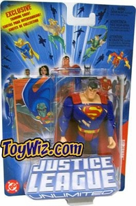 Justice League Unlimited Action Figure Battle Damaged Superman