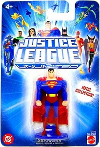 Justice League Unlimited Mini Metal Figure Superman [Blue Card]