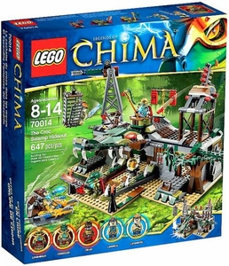 LEGO Legends of Chima Set #70014 Croc Swamp Hideout