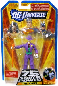 DC Universe Infinite Heroes 75 Years of Super Power Action Figure The Joker