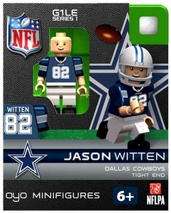 OYO Football NFL Building Brick Minifigure Jason Witten [Dallas Cowboys]