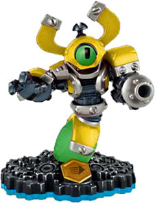 Skylanders Swap Force Loose Figure Nitro Magna Charge