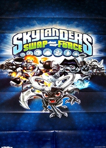 Skylanders Swap Force Dark Edition Mega Character Poster