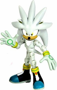 Sonic 20th Anniversary 3.5 Inch LOOSE Action Figure 2006 Silver