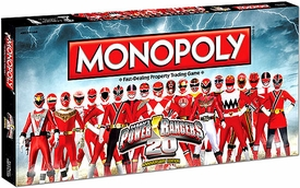 Monopoly Board Game Set Power Ranger's Edition