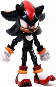 Sonic 20th Anniversary 3.5 Inch LOOSE Action Figure Shiny Metallic Shadow [Exclusive Paint Job!]