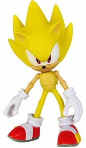 Sonic 20th Anniversary Sonic Through Time 6 Inch LOOSE Action Figure Super Sonic [Modern]