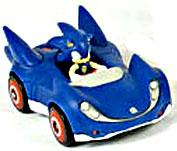 Sonic Sega All-Stars Racing LOOSE Vehicle with 1.5 Inch Figure Sonic