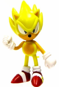 Sonic the Hedgehog 2 Inch LOOSE PVC Figure Super Sonic