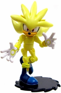 Sonic the Hedgehog 3.5 Inch LOOSE Action Figure Super Silver Hot!