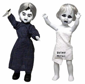Mezco Toyz Living Dead Dolls Psycho Set Norman & Marion Pre-Order ships March