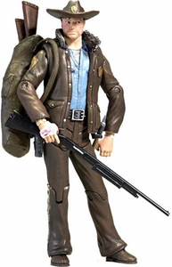 McFarlane Toys Walking Dead COMIC Series 1 Loose Action Figure Officer Rick Grimes