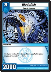 Kaijudo Shattered Alliances Single Card Common #11 Bladefish