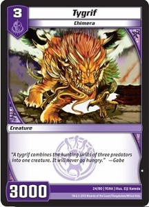 Kaijudo Shattered Alliances Single Card Common #24 Tygrif
