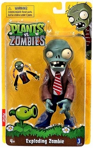 Plants vs Zombies 6 Inch Figure Exploding Zombie