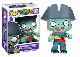 Funko POP! Plants vs Zombies Vinyl Figure Swashbuckler Zombie