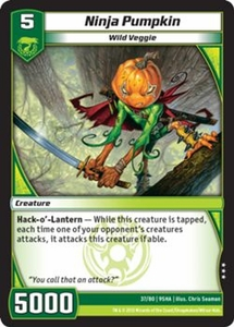 Kaijudo Shattered Alliances Single Card Rare #37 Ninja Pumpkin