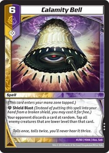 Kaijudo Shattered Alliances Single Card Rare #41 Calamity Bell
