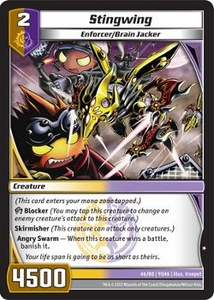 Kaijudo Shattered Alliances Single Card Common #46 Stingwing