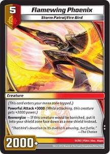 Kaijudo Shattered Alliances Single Card Uncommon #51 Flamewing Phoenix