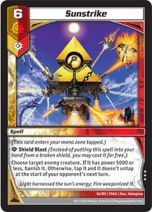 Kaijudo Shattered Alliances Single Card Rare #56 Sunstrike