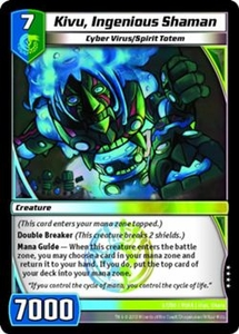Kaijudo Shattered Alliances Single Card Very Rare #67 Kivu, Ingenious Shaman