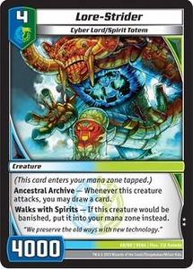 Kaijudo Shattered Alliances Single Card Uncommon #68 Lore-Strider