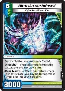 Kaijudo Shattered Alliances Single Card Rare #70 Oktuska the Infused