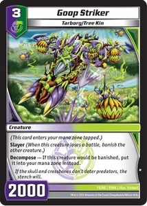 Kaijudo Shattered Alliances Single Card Common #75 Goop Striker
