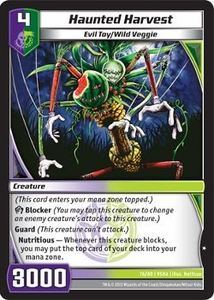 Kaijudo Shattered Alliances Single Card Common #76 Haunted Harvest