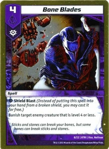 Kaijudo Triple Strike Single Card Uncommon #8 Bone Blades