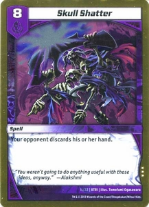 Kaijudo Triple Strike Single Card Rare #11 Skull Shatter