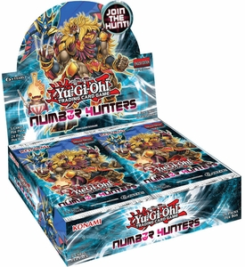 YuGiOh Number Hunters Booster Box [24 Packs]