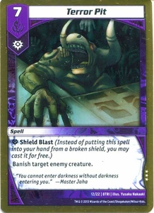Kaijudo Triple Strike Single Card Rare #12 Terror Pit