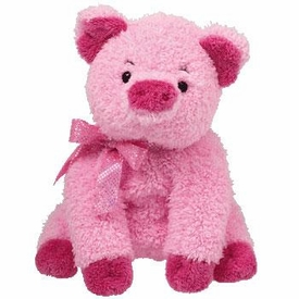 Ty Beanie Baby Pinkys Silky the Pig