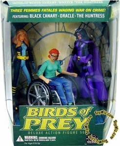 DC Direct Action Figure Box Set Black Canary, Oracle and Huntress Birds of Prey
