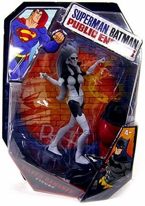 Mattel DC Superman Batman Public Enemies Action Figure Silver Banshee [Build Brimstone Piece!]