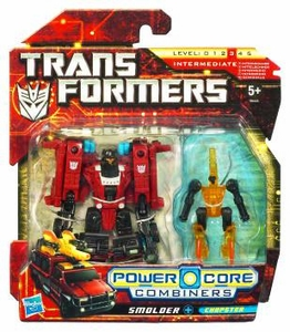 Transformers: Power Core Action Figure 2-Pack Smolder with Chopster