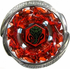 Beyblades Metal Fusion CUSTOM Battle Top LOOSE Burn Serpent WA130ES