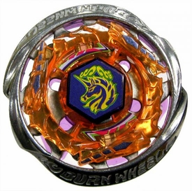 Beyblades Metal Fusion CUSTOM Battle Top LOOSE Burn Unicorno {Striker} SW145JB