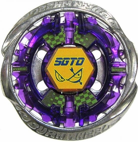 Beyblades Metal Fusion CUSTOM Battle Top LOOSE Burn Sagittario 105HF
