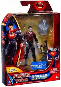 Man of Steel Movie Powers of Krypton Exclusive Action Figure Blade Blaze General Zod