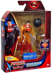 Man of Steel Movie Powers of Krypton Exclusive Action Figure Solar Power Superman