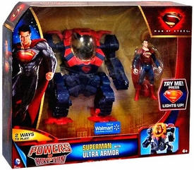 Man of Steel Movie Powers of Krypton Exclusive Action Figure Superman with Ultra Armor