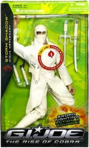 GI Joe The Rise of Cobra 12 Inch Deluxe Action Figure Storm Shadow Ninja Mercenary